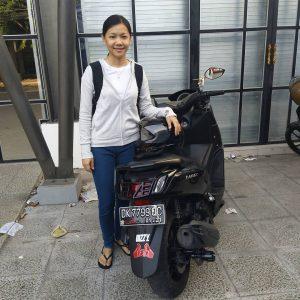 sewa motor Nmax di Bali