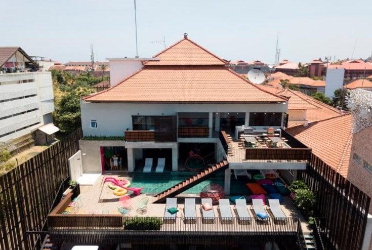 5. cara cara inn - Daftar Hotel Instagramable di Bali Murah, Unik dan Nyaman