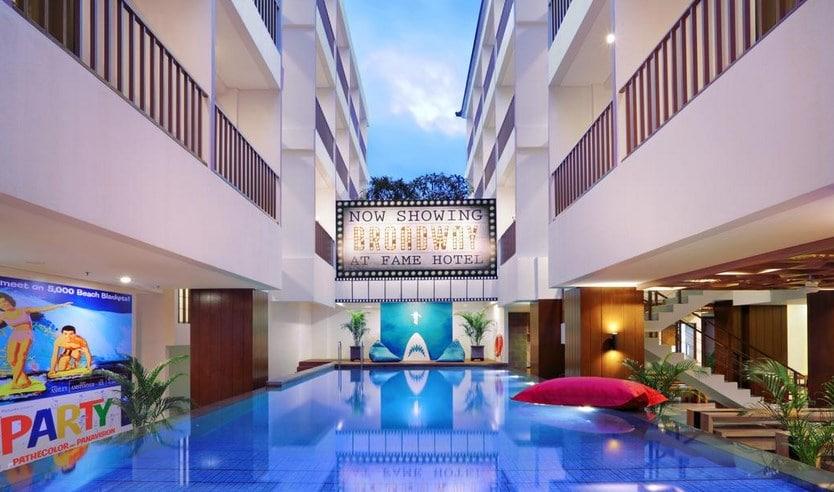 6. Fame Hotel Sunset Road - Daftar Hotel Instagramable di Bali Murah, Unik dan Nyaman