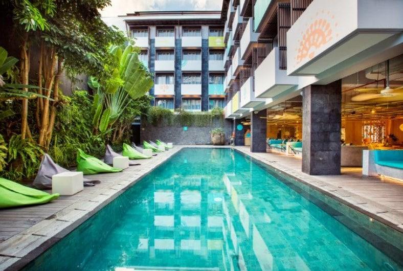 7. Tijili Hotel - 8 Rekomendasi Hotel Babymoon di Bali yang Ramah Ibu Hamil