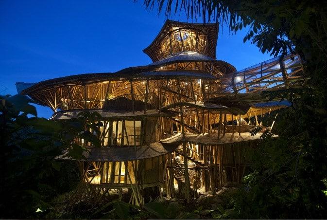 9. Sharma Springs Bamboo - Inilah 9 Villa Instagramable di Bali dengan Interior Menakjubkan dan Panorama Spektakuler