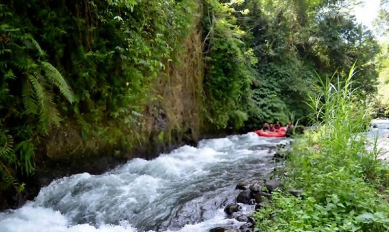 Ayung Rafting - 25 Tempat Wisata Instagramable di Ubud Bali Super Cantik