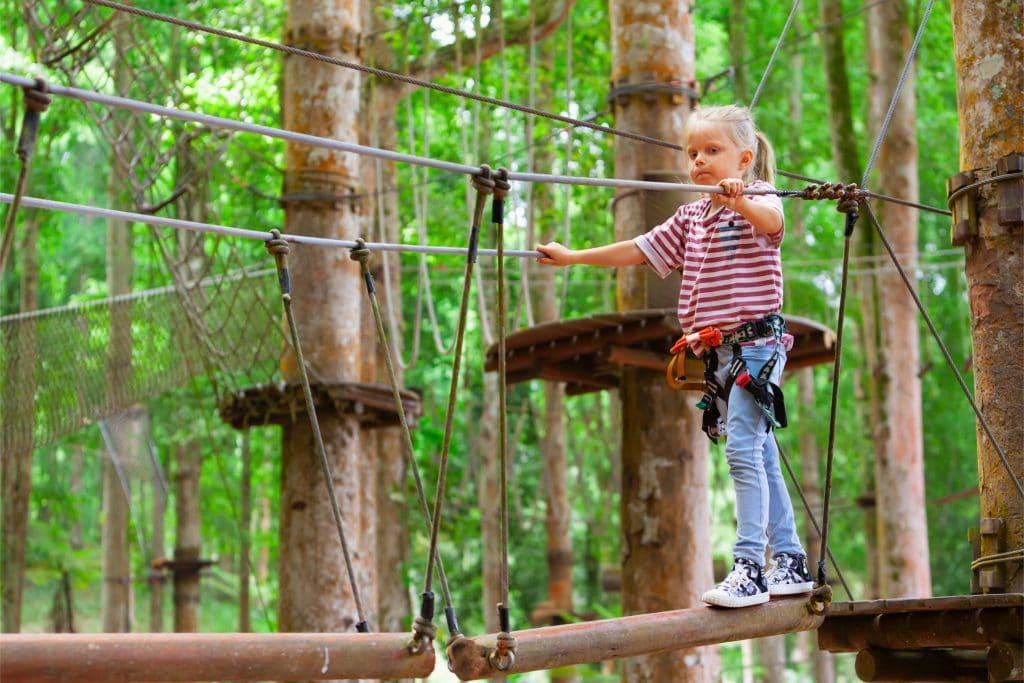 Bali Treetop Adventure 1024x683 - 10 Tempat Wisata Bali untuk Anak yang Seru dan Edukatif