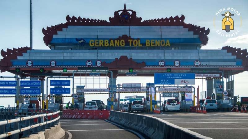 Gerbang Tol Benoa - Jalan Tol Bali Mandara - Pembangunan Tol Atas Laut Pertama di Bali