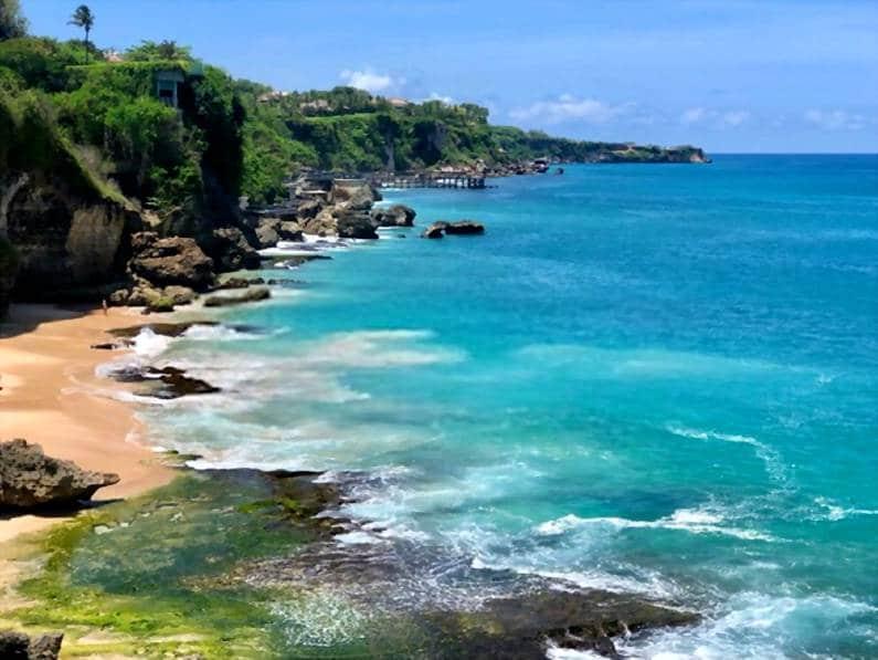 Pantai Bingin - 15 Pantai Bagus di Uluwatu Pulau Dewata Bali