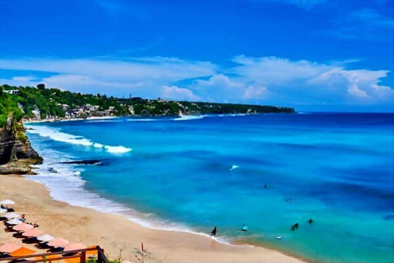 Pantai Dreamland 1 - 15 Pantai Bagus di Uluwatu Pulau Dewata Bali