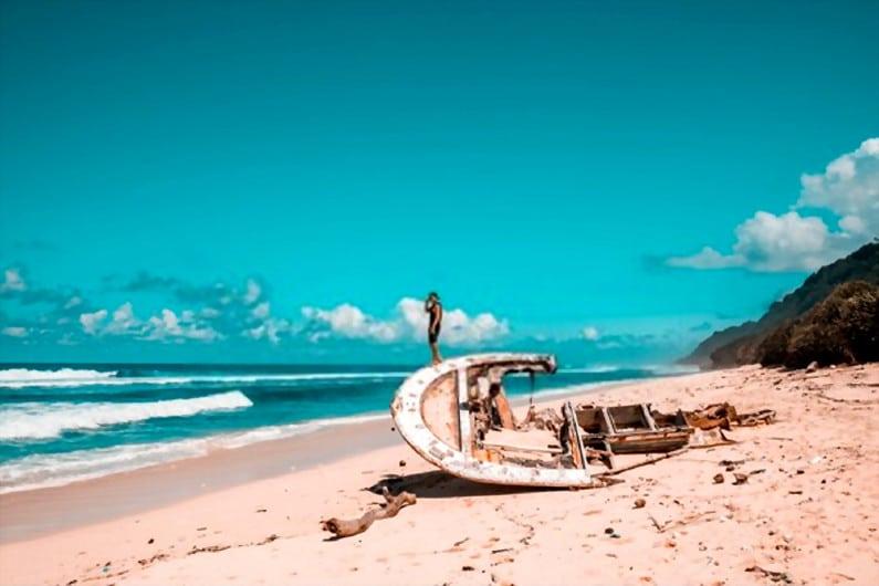 Pantai Nyang Nyang 1 - 15 Pantai Bagus di Uluwatu Pulau Dewata Bali