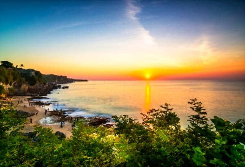 Pantai Tegal Wangi 1 - 15 Pantai Bagus di Uluwatu Pulau Dewata Bali