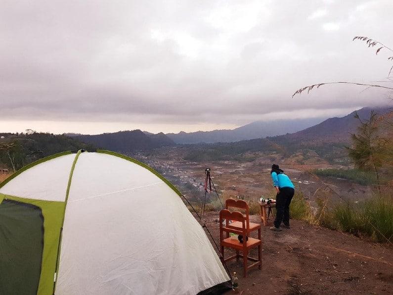 Pinggan Sunrise Camping 1 - 5 Destinasi Wisata Camping di Kintamani Denpasar Paling Seru