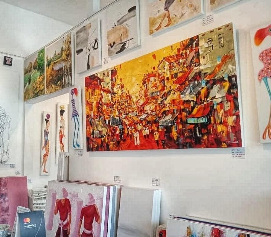 Reservoart Bali @reservoartgallery - 5 Deretan Galeri Lukisan di Pulau Bali yang Wajib Dikunjungi