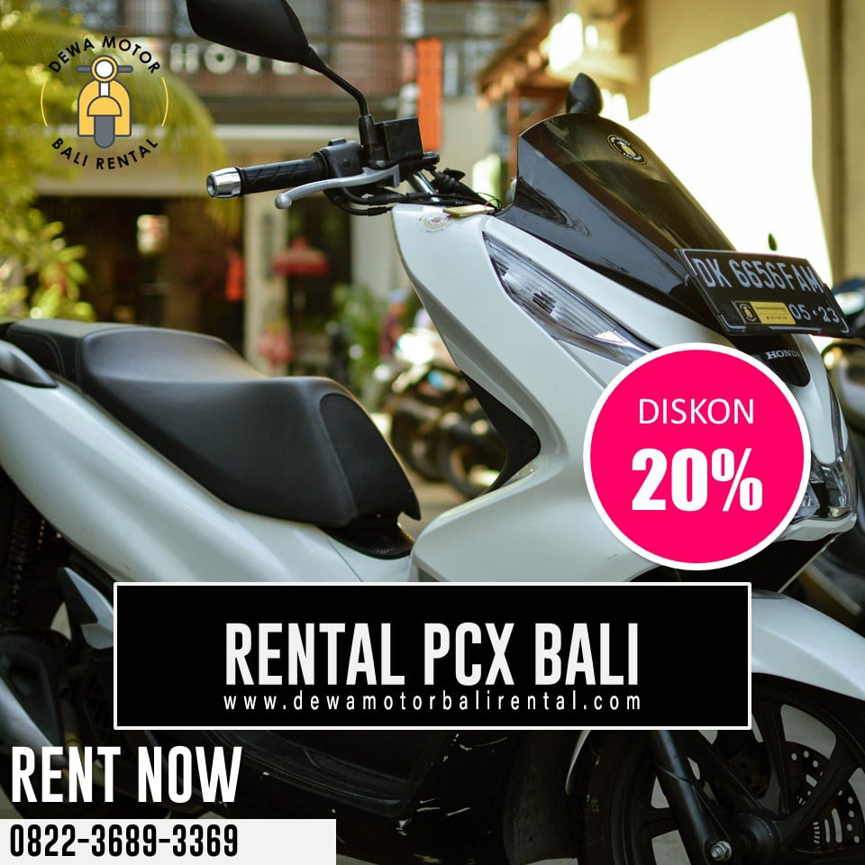 Sewa Motor PCX Bali