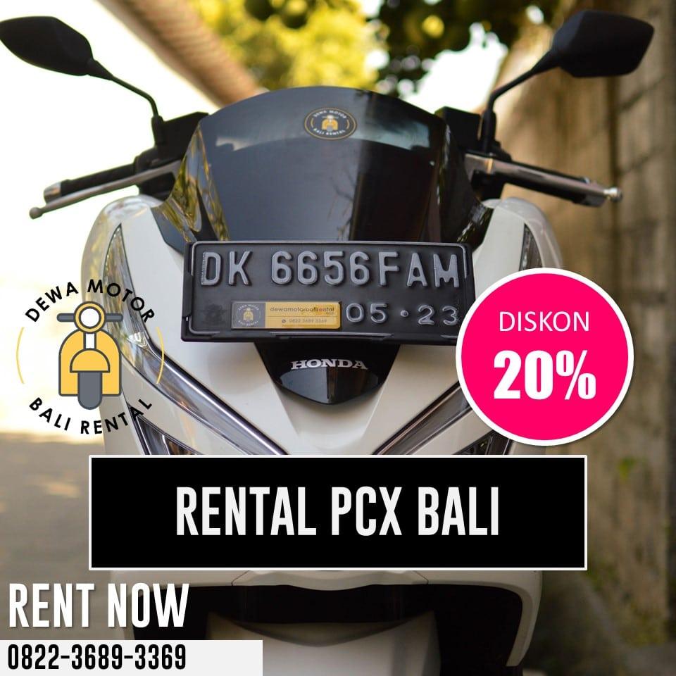 Sewa Motor PCX Bali – Harga Rental Honda PCX Di Bali