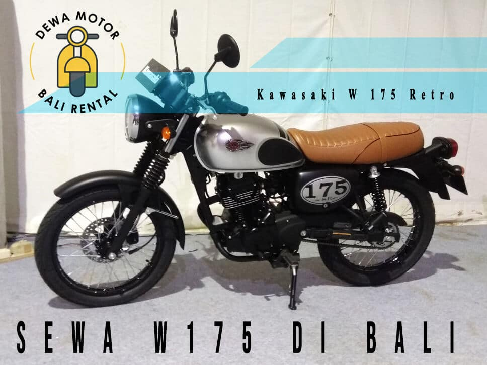 Sewa W175 di Bali - Sewa W175 di Bali | Rental W175 Retro Professional & Terpercaya