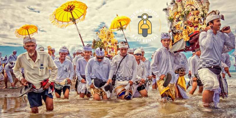 Upacara Melasti - Jalan Tol Bali Mandara - Pembangunan Tol Atas Laut Pertama di Bali