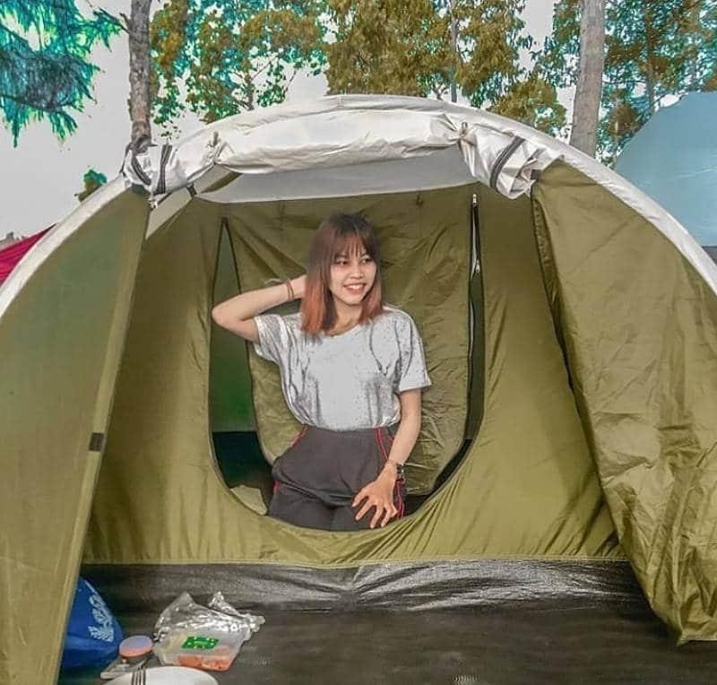 kayupadi camping @iambcsd 1 - 5 Destinasi Wisata Camping di Kintamani Denpasar Paling Seru