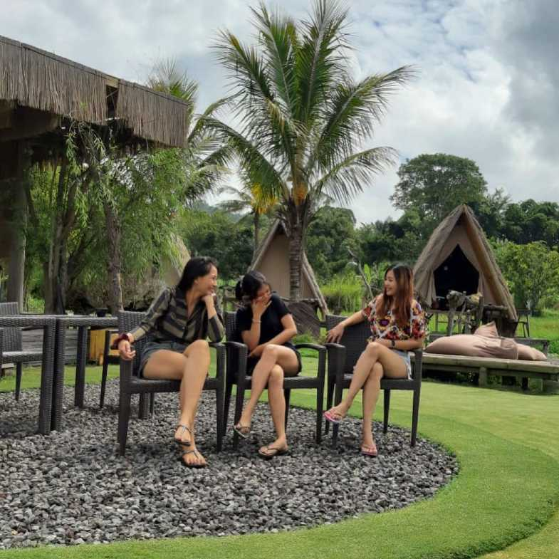 njung bali camp berkemah - Asyiknya Berkemah di N'jung Bali Camp Songan Nan Sejuk dan Indah