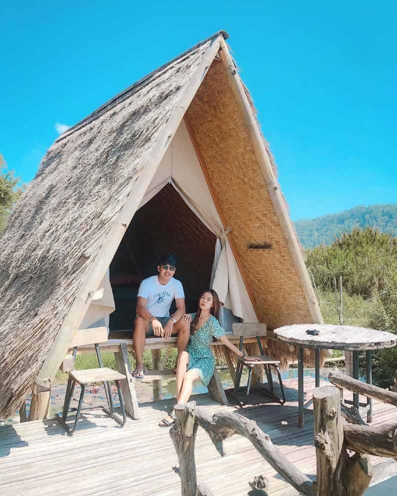 njung bali camp songan indonesia - Asyiknya Berkemah di N'jung Bali Camp Songan Nan Sejuk dan Indah