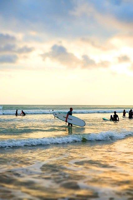 object wisata pantai canggu - Wisata Pantai Canggu: Menikmati Sunset dan Debur Ombak Menawan