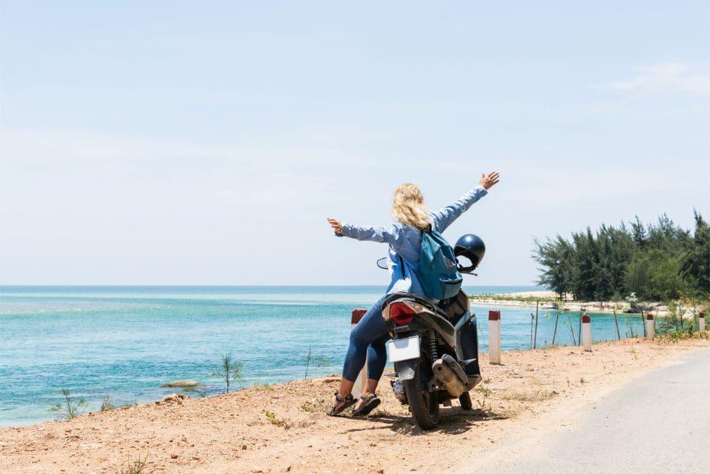 rental motor nusa lembongan 2 1024x683 - Rental Motor Nusa Lembongan   Jadikan Solo Traveling Makin Asyik