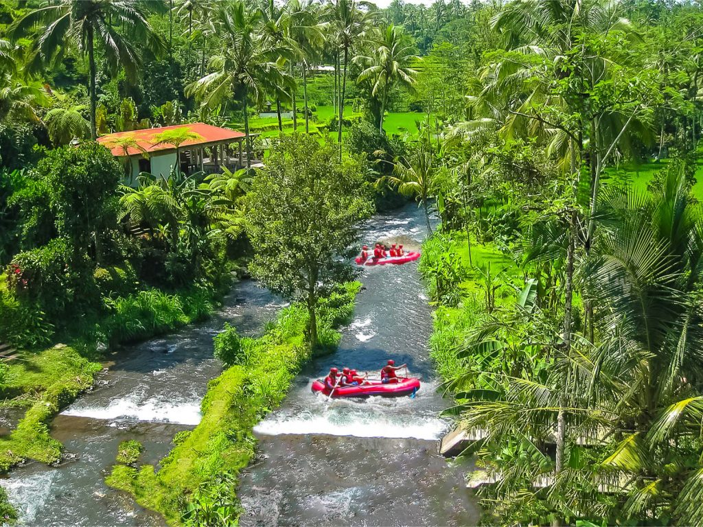 sungai ayung 1024x768 - 10 Tempat Wisata Eksotis Bali yang Bikin Anda Enggan Pulang