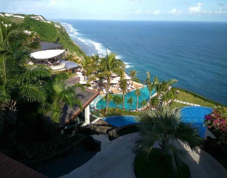 the edge bali swimming pool - The Edge Bali Pool | Swimming Pool Unik di Atas Tebing